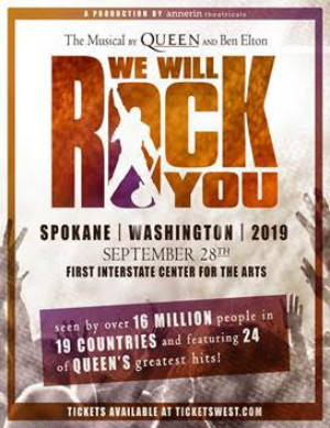 WE WILL ROCK YOU THE MUSICAL Announced At First Interstate Center For The Arts