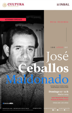 Destacan Valores Psicológicos Y Artísticos En La Relectura De La Obra De José Ceballos Maldonado