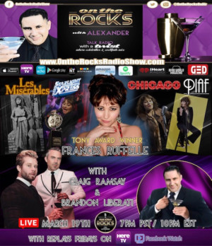 Frances Ruffelle Will Appear On ON THE ROCKS Radio Show