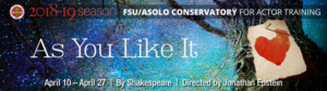 FSU/Asolo Conservatory Presents AS YOU LIKE IT In The Selby Gardens