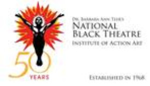 National Black Theatre & Schomburg Center Present IN PERPETUAL FLIGHT: THE MIGRATION OF THE BLACK BODY