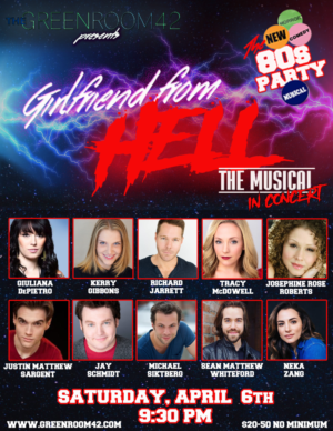 Rachel Klein Set To Direct GIRLFRIEND FROM HELL Concert At Green Room 42