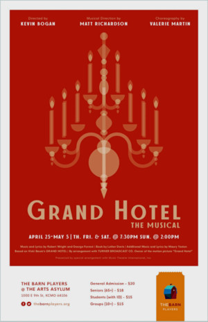 GRAND HOTEL Announced At The Barn Players