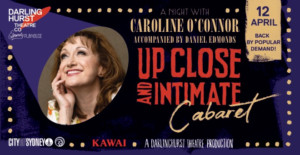 Caroline O'Connor Returns For One Night Only At The Darlinghurst Theatre Company