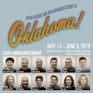 Stagecrafters Announces Casting for OKLAHOMA!