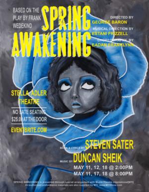Teens Take On The Coming-of-Age Musical SPRING AWAKENING At Stella Adler Theatre
