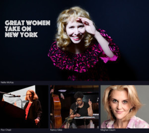 Great Women Take New York In LIVE FROM MERKIN HALL it's IN YOUR FACE - NEW YORK