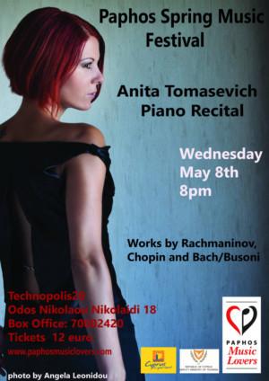 Piano Recital With Anita Tomasevich Announced At Technopolis