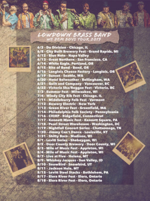 2nd Line Marching Jazz Hip Hop's LowDown Brass Band Announces Tour And New Song