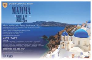 Dundalk Community Theatre Presents MAMMA MIA!