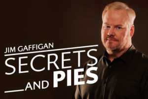 Tickets Go On Sale Today For Jim Gaffigan's 'Secrets And Pies Tour'