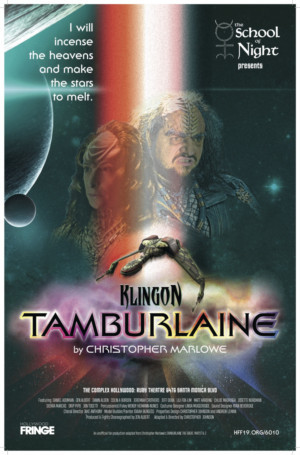 KLINGON TAMBURLAINE Warps Into Hollywood Fringe