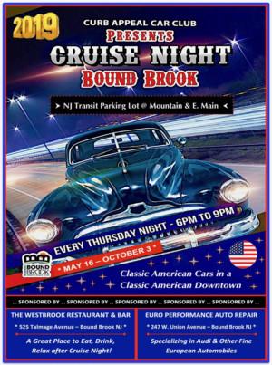Car Cruise Nights On Main Street Start May 16 In Bound Brook