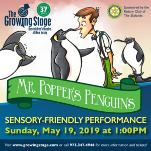Sensory Friendly Performance Announced At The Growing Stage!