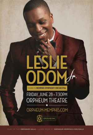 Leslie Odom, Jr Performs With The Memphis Symphony Orchestra, Tickets On Sale Now