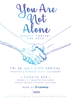 YOU ARE NOT ALONE Benefit Concert And Gala Announced