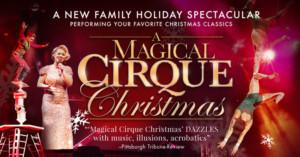 Coral Springs Center For The Arts Presents A MAGICAL CIRQUE CHRISTMAS