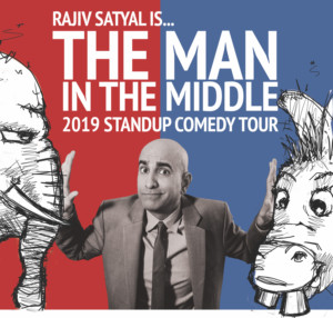 Rajiv Satyal Will Embark on Comedy Tour, 'The Man In The Middle'