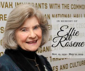Czech Center Museum Houston Founder Effie Rosene Passes Away