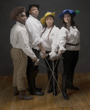 THE THREE MUSKETEERS Ride Into GBSC In Collaboration With The Front Porch Arts Collective