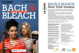 La MaMa Presents American Premiere Of BACH&BLEACH By Dutch Violist Esther Apituley