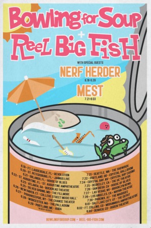 Reel Big Fish & Bowling For Soup To Co-Headline Tour