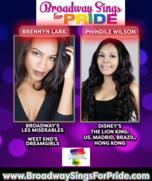Brennyn Lark and Phindile Wilson Will Sing At Westchester Pride