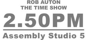 THE TIME SHOW Comes to Edinburgh Festival Fringe
