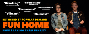 The Wilbury Group's FUN HOME Extended Through June 23
