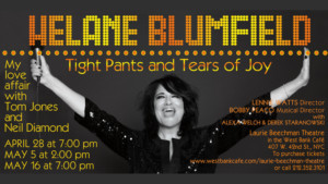 Helane Blumfield Presents New Show Directed By Lennie Watts