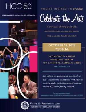 HCC Ybor City Visual And Performing Arts Series Presents 'HCC50 Celebrate The Arts'