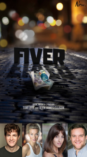 Casting Announced For The World Premiere Of FIVER At The Crazy Coqs