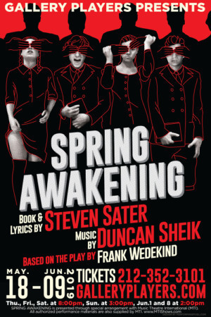 SPRING AWAKENING Opens May 18 At Gallery Players