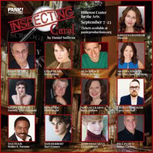 Panic! Productions Presents INSPECTING CAROL By Daniel Sullivan