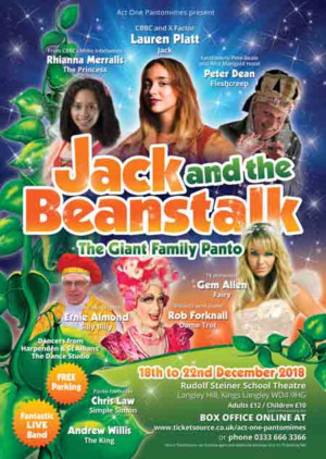 Act One Pantomimes Gather All Star Cast For Kings Langley Panto