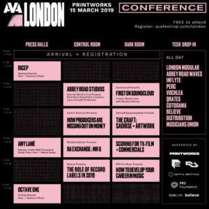 Ava London Announce Additions To Conference Programme Including Live Ra Exchange With Mr G And Soundcloud Workshops