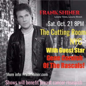 Frank Shiner Will Perform to Support Breast Cancer Awareness at The Cutting Room