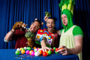 New Family-Fun Play BROCCOLI, ROOSEVELT AND MR. HOUSE! Has World Premiere At Fringearts' High Pressure Fire Service Festival