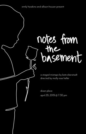 NOTES FROM THE BASEMENT to Play Dixon Place