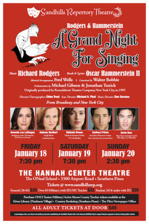 Sandhills Rep Announces A GRAND NIGHT FOR SINGING Featuring Autumn Hurlbert, Devin Ilaw, and More