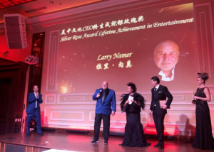 E! Founder Larry Namer Honored With Lifetime Achievement Award At Annual Hollywood China Night Gala