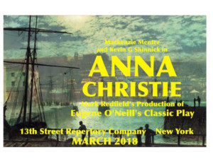 New Production of Eugene O'Neill's ANNA CHRISTIE Set for 13th Street Rep
