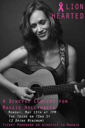 Join Members Of The Broadway Community For LION HEARTED: A Benefit Concert For Maggie Hollinbeck
