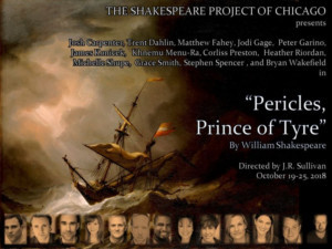 Shakespeare Project Of Chicago Presents Free Performances Of Rarely Seen PERICLES