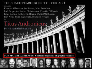 Shakespeare Project Of Chicago Presents Free Performances Of Bloody Revenge Tragedy TITUS ANDRONICUS