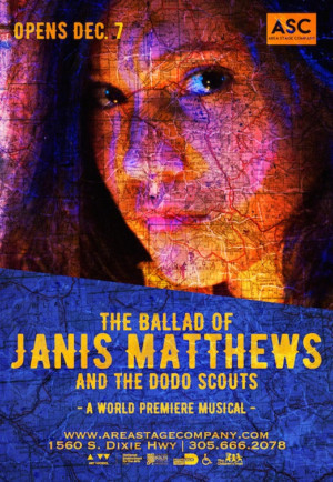 Area Stage Company To Present Charming World Premiere Musical THE BALLAD OF JANIS MATTHEWS AND THE DODO SCOUTS