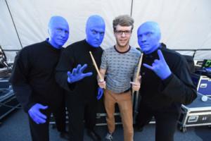 Tyler Pedersen Wins Blue Man Group Boston Drum-Off