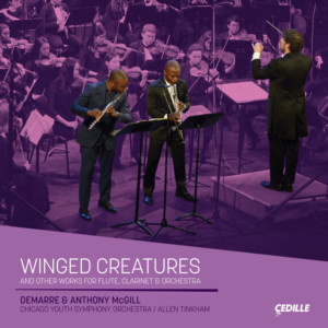 Demarre And Anthony McGill Perform Duo Concertos For Flute, Clarinet On 'Winged Creatures'