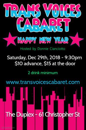 Trans Voices Cabaret Returns to The Duplex