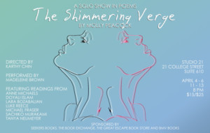 Art Thing & Prairie Fire, Please Present THE SHIMMERING VERGE